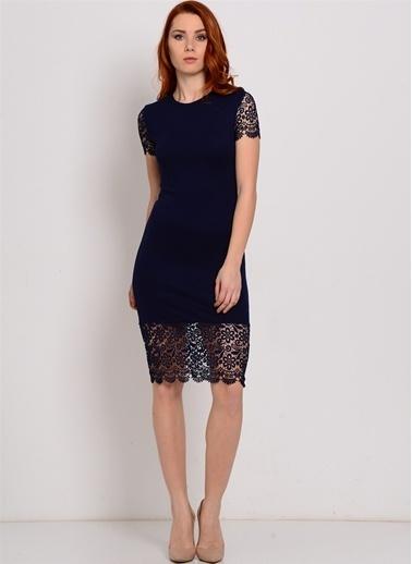 Zibi London Elbise Lacivert